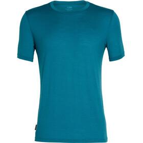 Icebreaker Tech Lite - T-shirt manches courtes Homme - Bleu pétrole